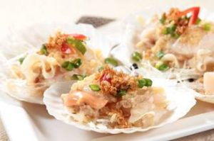 Steamed Scallop CMG Seafood