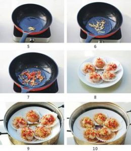 Steamed Scallop Recipe Steps CMG Seafood